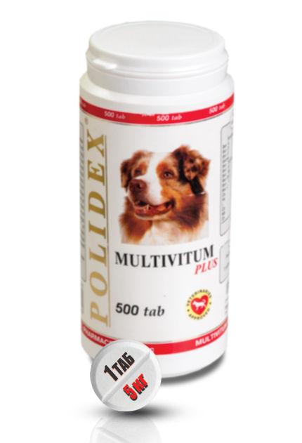 POLIDEX® Multivitum plus 500 Tab (Полидэкс Мультивитум плюс)